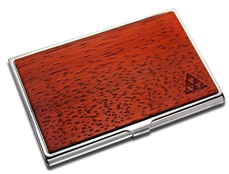 SMARTWOODS CARD HOLDER PADAUK