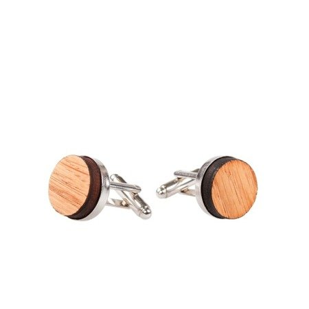SMARTWOODS CUFFLINKS - OAK