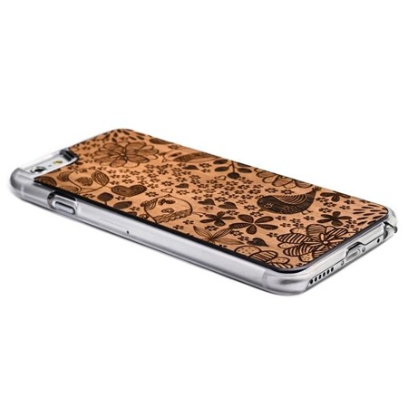 SMARTWOODS PHONE CASE BIRDS CLEAR iPhone 6/6s