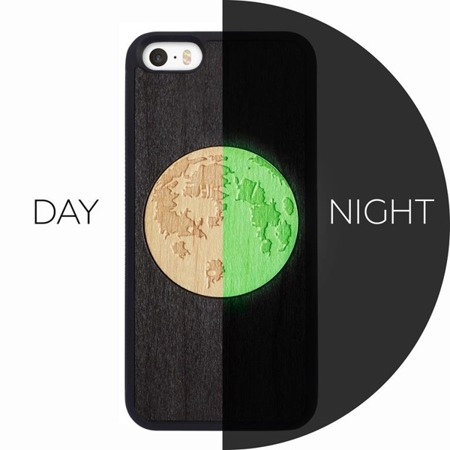 SMARTWOODS PHONE CASE MOON ACTIVE iPhone SE/5/5s