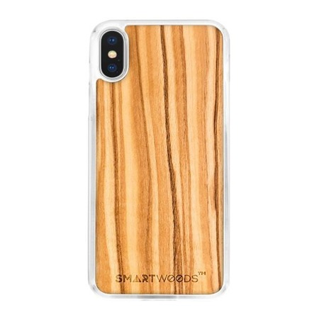 SMARTWOODS PHONE CASE OLIVE CLEAR iPhone X/Xs