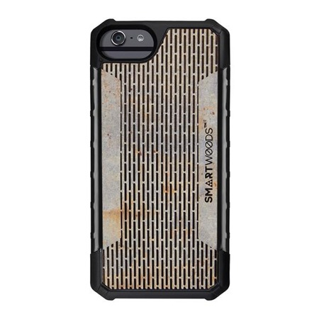 SMARTWOODS PHONE CASE SOLID ARMOR PASS STRUCTURE iPhone 6/6s/7/8 CONCRETE