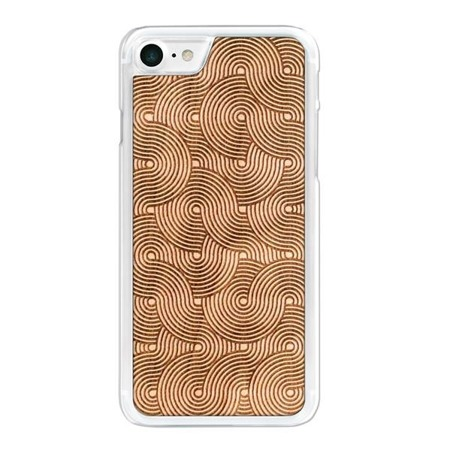 SMARTWOODS PHONE CASE WAVES CLEAR iPhone 7/8