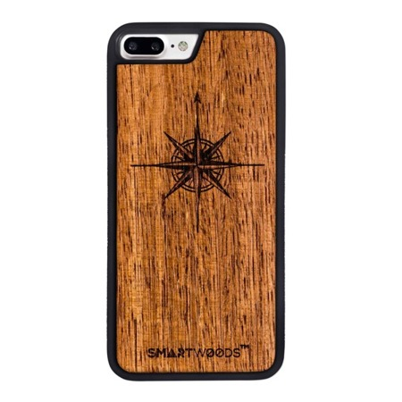 SMARTWOODS PHONE CASE WIND ROSE ACTIVE iPhone 7/8 PLUS