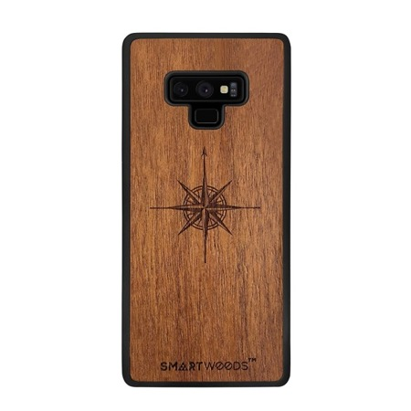 SMARTWOODS PHONE CASE WIND ROSE SAMSUNG GALAXY NOTE 9