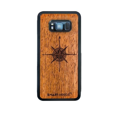 SMARTWOODS PHONE CASE WIND ROSE SAMSUNG GALAXY S8