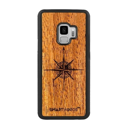 SMARTWOODS PHONE CASE WIND ROSE SAMSUNG GALAXY S9