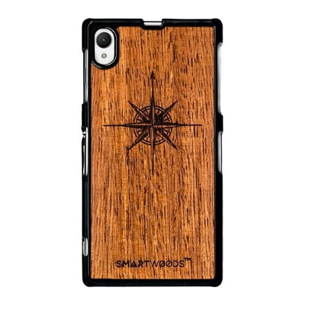 SMARTWOODS PHONE CASE WIND ROSE SONY XPERIA Z1