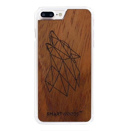 SMARTWOODS PHONE CASE WOLF CLEAR iPhone 7/8 PLUS