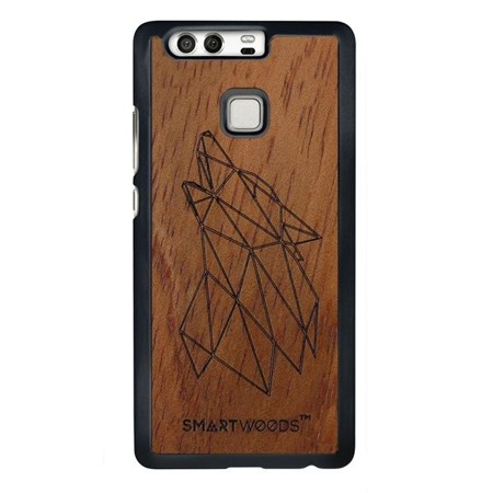 SMARTWOODS PHONE CASE WOLF HUAWEI P9