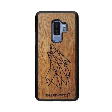 SMARTWOODS PHONE CASE WOLF SAMSUNG GALAXY S9 PLUS