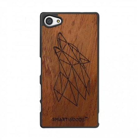 SMARTWOODS PHONE CASE WOLF SONY XPERIA Z5 COMPACT