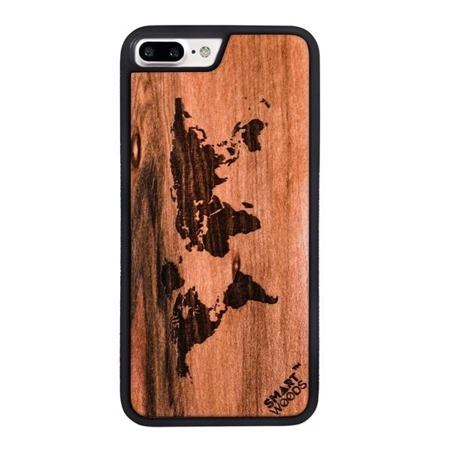 SMARTWOODS PHONE CASE WORLD MAP ACTIVE iPhone 7/8 PLUS