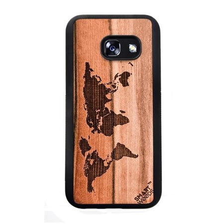 SMARTWOODS PHONE CASE WORLD MAP SAMSUNG GALAXY A3 2017