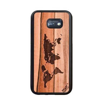 SMARTWOODS PHONE CASE WORLD MAP SAMSUNG GALAXY A5 2017