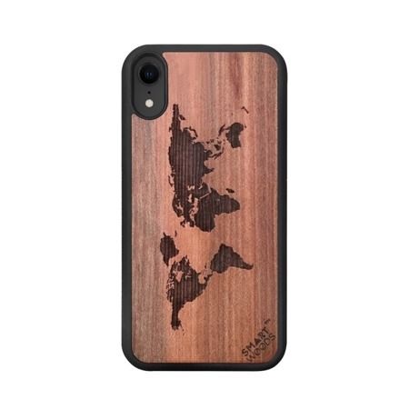 SMARTWOODS PHONE CASE WORLD MAP iPhone Xs MAX