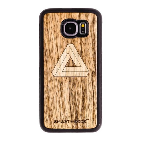 SMARTWOODS HANDYHÜLLE IMPOSSIBLE TRIANGLE SAMSUNG GALAXY S6 EDGE