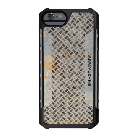 SMARTWOODS HANDYHÜLLE SOLID ARMOR 5-WILLOW PATTERN BARS iPhone 6/6s/7/8 CONCRETE