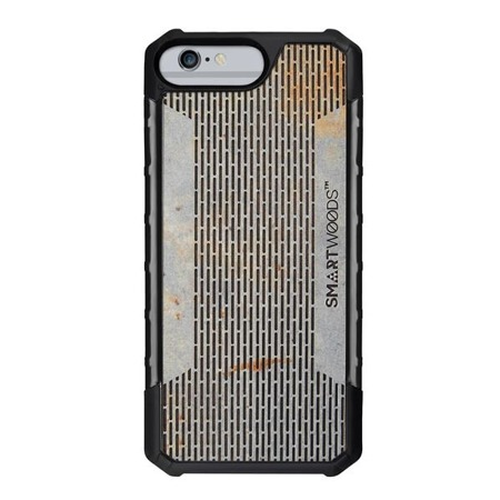 SMARTWOODS HANDYHÜLLE SOLID ARMOR PASS STRUCTURE iPhone 6/6s/7/8 PLUS CONCRETE