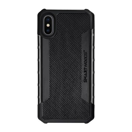 SMARTWOODS HANDYHÜLLE SOLID ARMOR WAVY LAYOUT iPhone X/Xs