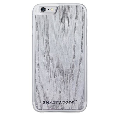 SMARTWOODS HANDYHÜLLE SPACE GRAY CLEAR iPhone 6/6s PLUS